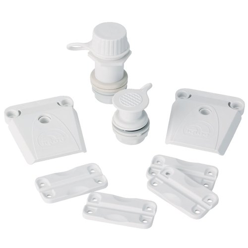 Parts Kit for Igloo Coolers, All Sizes, White