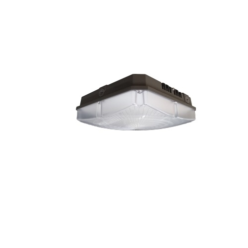 40W LED Canopy Light Fixture, 150W Retrofit, Dimmable, 5093 lm, 4000K, Bronze