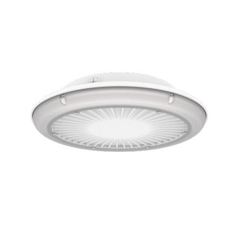 40W LED UFO Parking Garage Light, Wide, 5014 lm, 340V-480V, 5000K