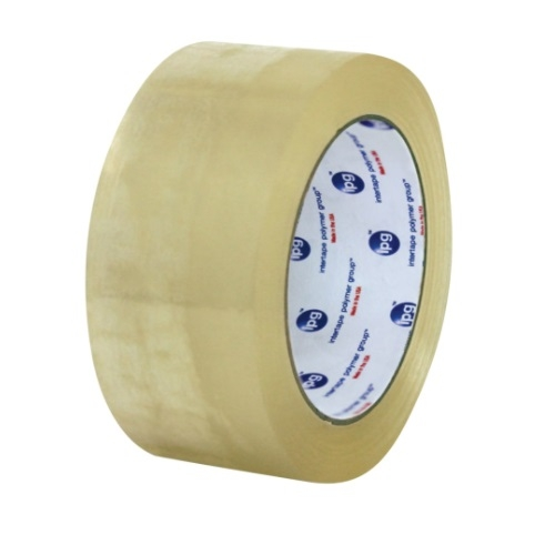 1.89-in X 328-ft Hot Melt Carton Sealing Tape, 1.6 Mil, 25 lb/in Strength, Clear