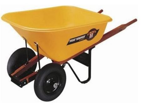 Jackson Professional Tools RP810 True Temper Wheelbarrow, 8 cubic feet