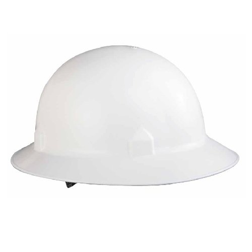 White BLOCKHEAD Hard Hats w/ 8-pt Ratchet