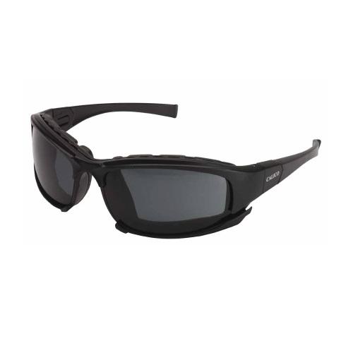 V50 Calico Safety Eyewear w/ Smoke Lens, Black Frame