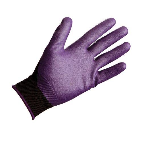 Size 7 G40 Purple Nitrile Foam Coated Gloves
