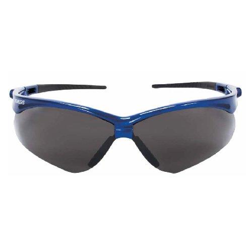 Blue V30 Nemesis Safety Glasses w/ Smoke Lens