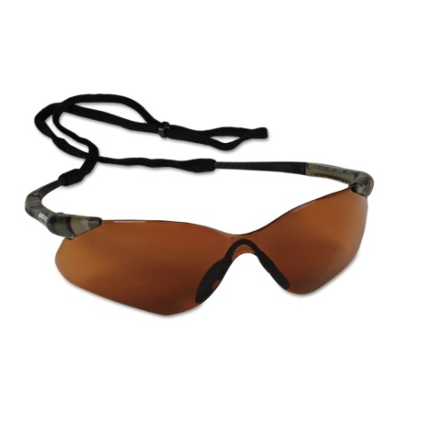 Safety Glasses w/ Anti-Scratch Lens, Camouflage Frame