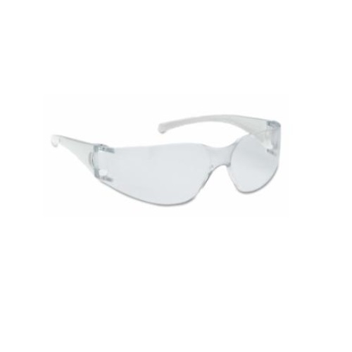 V10 Element Safety Glasses, Clear Lens, Clear Frame