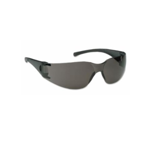V10 Element Safety Glasses, Smoke Lens, Black Frame