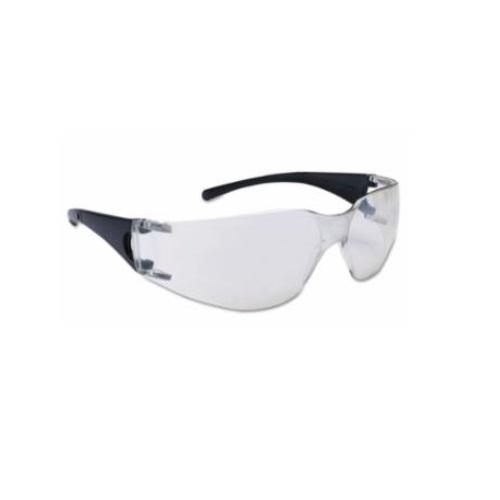 V10 Element Safety Glasses, Indoor/Outdoor Lens, Black Frame