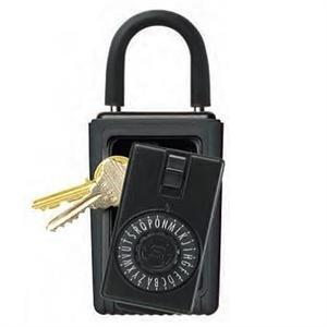 KeySafe Original Portable Dial, Black