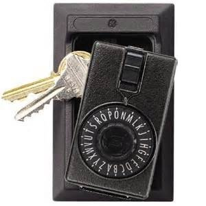 Kidde KeySafe Original Permanent Mortise, Black