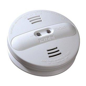 9V Photoelectric/Ionization Dual Sensor Battery Operated Smoke Alarm