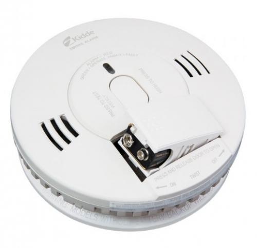 Kidde 9v Dc Battery Powered Smoke Alarm W Voice Battery Backup