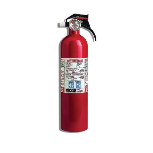 Kidde 3 LB. Class B and C Kitchen/Garage Fire Extinguisher (Kidde ...