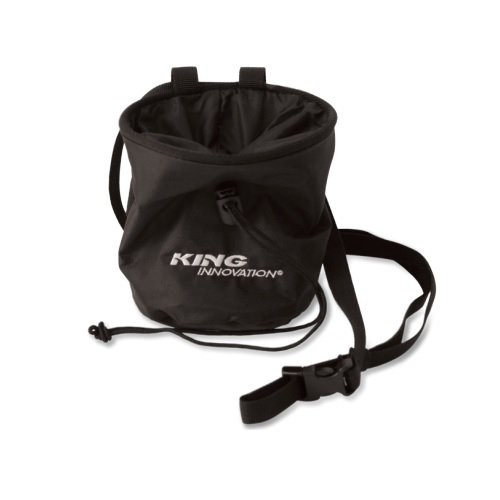 Adjustable Black Nylon Water Resistant Parts Sack with Belt