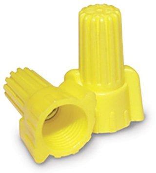 Contractors' Choice Yellow Wing Connector, 4,000 Pc. Bucket