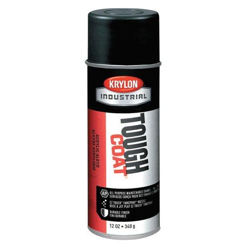 12 Ounce Interior/Exterior Tough Acrylic Black Aerosol Spray Paint