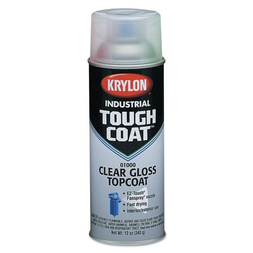 12 Ounce Interior/Exterior Tough Acrylic White Aerosol Spray Paint