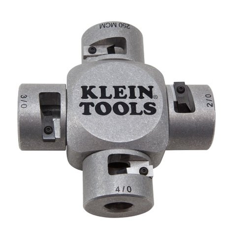 Klein Tools 21050 Large Cable Stripper w/ Clover Design for 2/0-250 MCM Cable