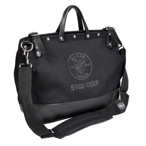 16-in Deluxe Tool Bag, Black