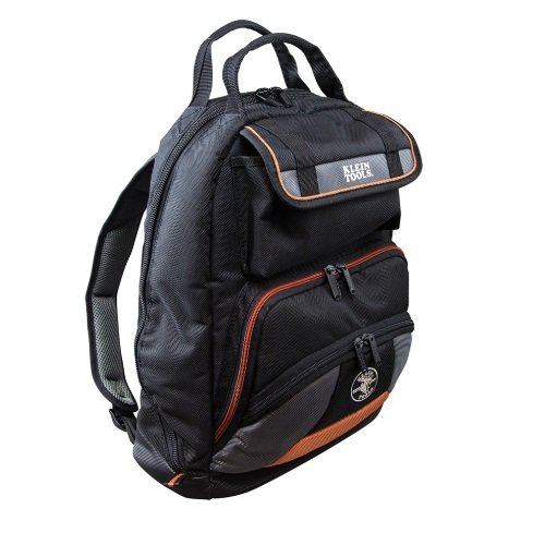 Tradesman Pro Durable Tool Backpack w/PVC Coated Bottom