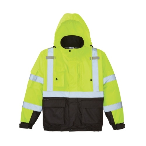High-Visibility Winter Bomber Jacket, Extra Large