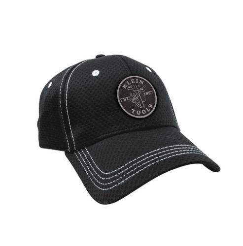 Lineman Logo Black w/White Stitching Baseball Cap