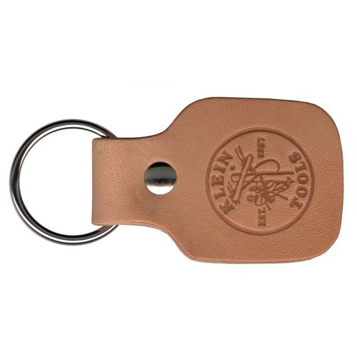 Leather Split Ring Key Chain