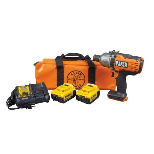 20V 7/16 Inch Battery-Operated Impact Wrench Kit