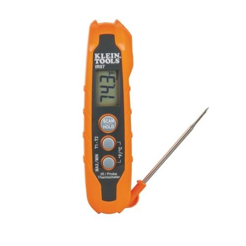 Dual IR/Probe Thermometer