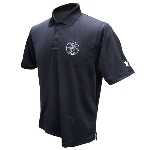 Under Armour Men's Corp Performance Polo, Large, Black