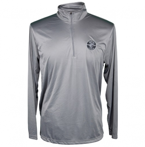 Team 365 1/4 Zip Pullover, XL, Sport Graphite