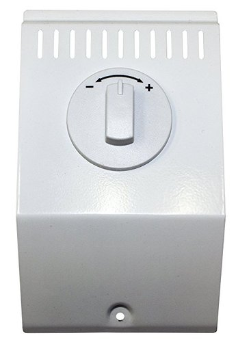 Double Pole Baseboard Built-In Thermostat Kit, Bright White