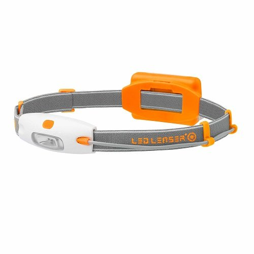 Orange Neo 90 Lumen 10 Meter Lighting Distance LED Headlamp