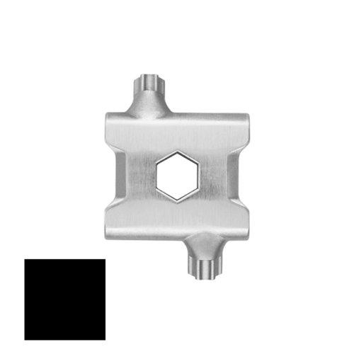 Link Piece 19 for Black Stainless Steel Tread Multitool Linked Bracelet