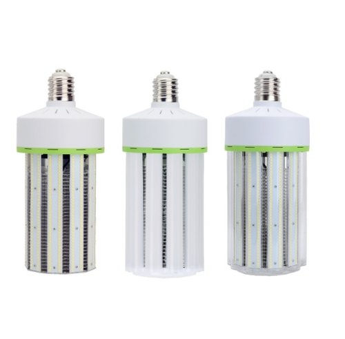 5700K 60W 7800 Lumen IP60 Rated No Cover LED Corn Bulbs