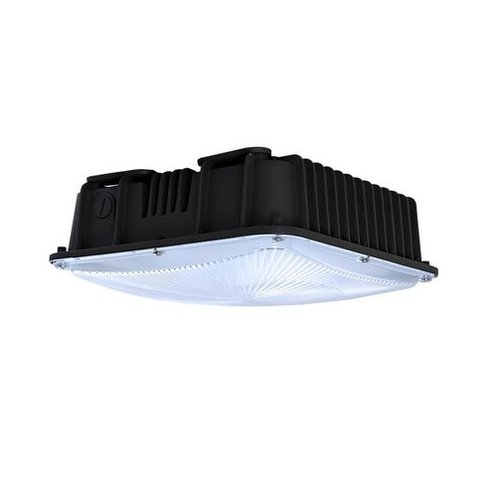 50W LED Canopy Fixture, 5000K, 5300 Lumen, 175W MH Equivalent