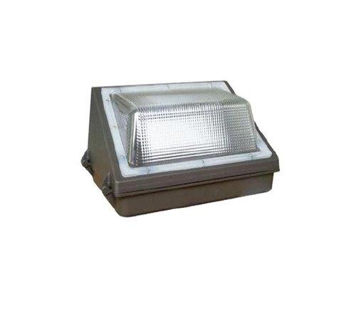 40W 5000K Semi Cut Off Wall Pack w/ Photocell, 4800 Lumens
