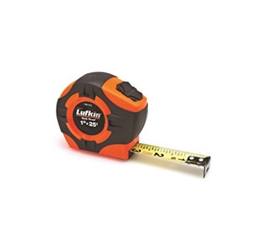 25' Quickread Hi-Viz Orange Power Return Tape Measure