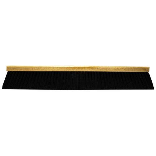 "24"" Black Plastic FlexSweep Floor Brush"