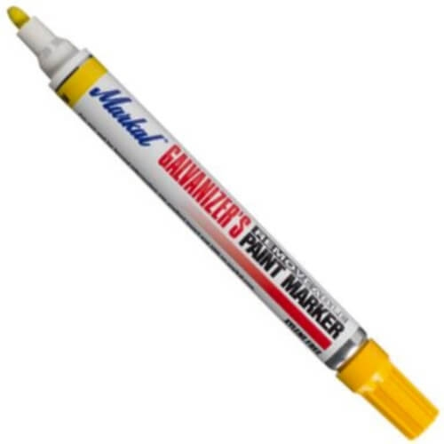 Industrial Removable Paint Marker, White