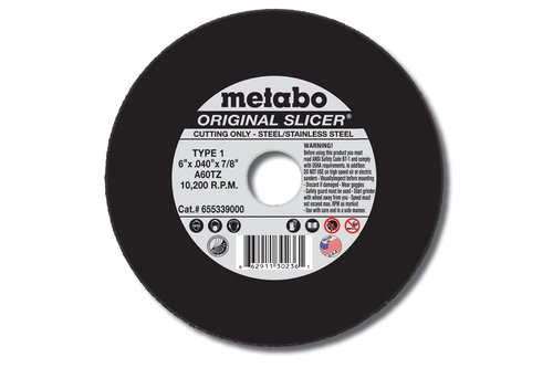 Metabo SLICER-PLUS High Performance Cutting Wheel 10pk New
