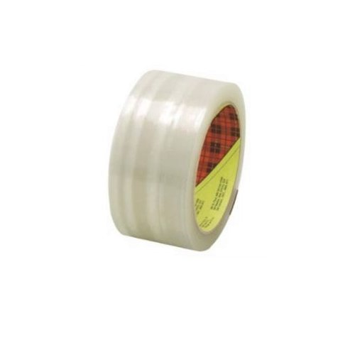 50 Meters of 48MM Clear Industrial Scotch Box Sealing Tape