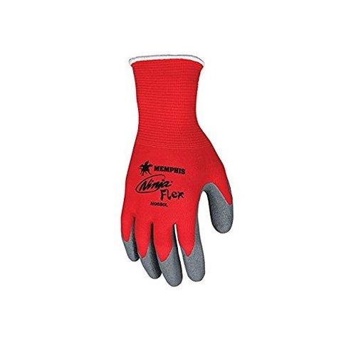 Large 15 gauge Ninja Flex Latex Coated Palm Gloves