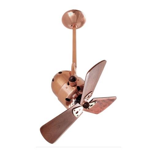 Matthews Fan 16 In 47w Bianca Direcional Ceiling Fan Ac 3 Speed 3 Wood Blades Polished Copper Matthews Fan Bd Cp Wd Homelectrical Com