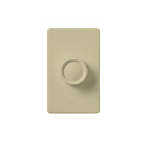 Retro Rotary Wall Switch, Almond