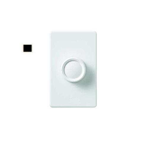 Retro Rotary Wall Switch, Black