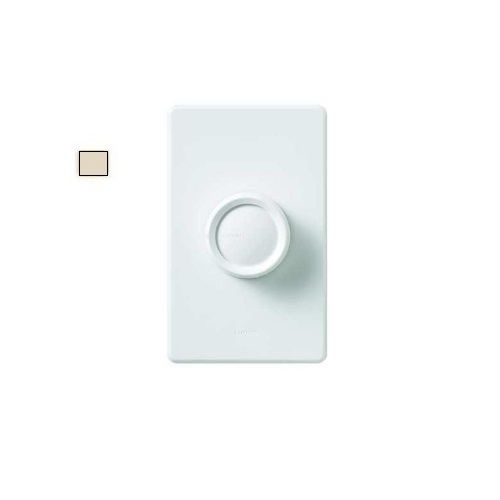 Retro Rotary Wall Switch, Light Almond