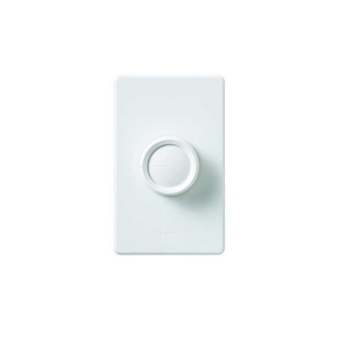 Retro Rotary Wall Switch, Gloss White