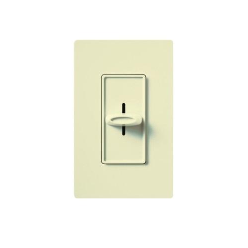 Designer Slide Wall Switch, Almond